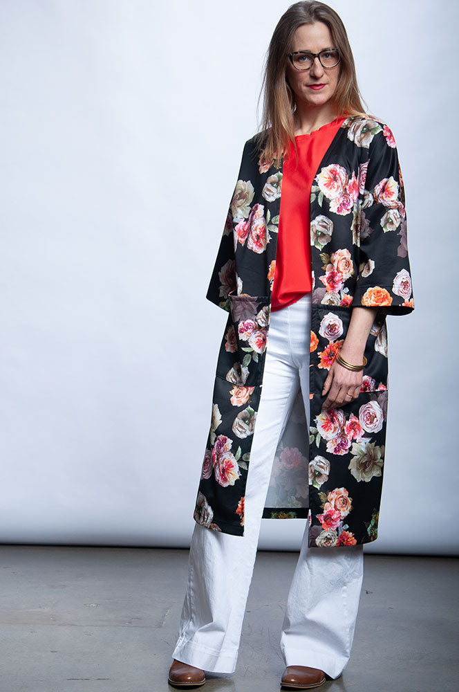 Ruth Coat - Renewal Floral