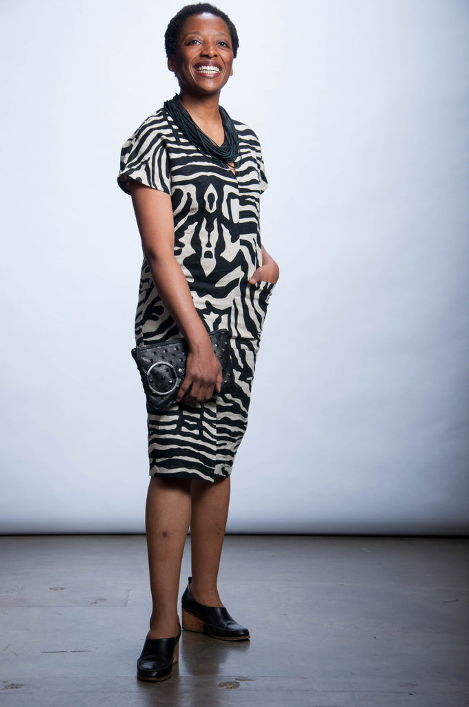 Ruth Dress - Safari