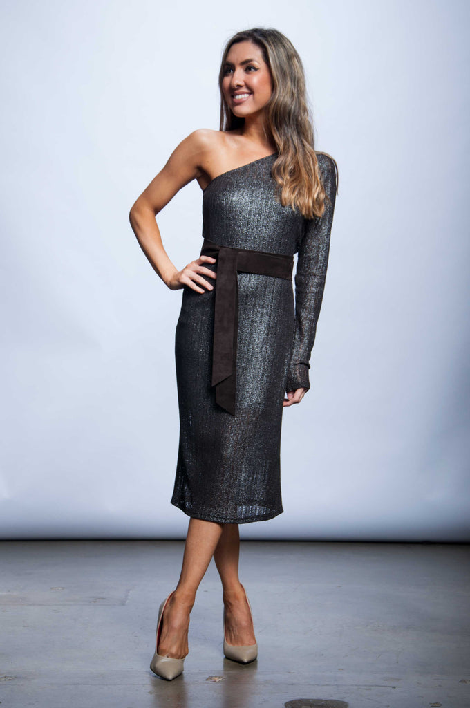 Scarletta Dress - Shimmer & Spice