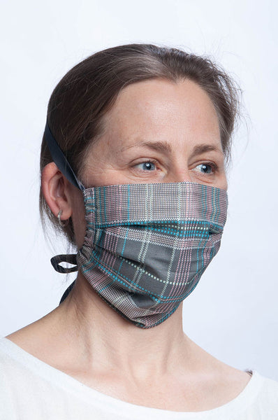 Cotton Mask - Secret Ways Plaid