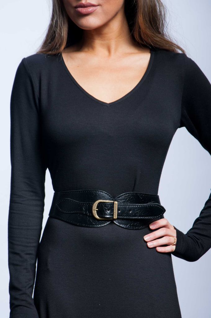 Equestrian Waist Belt - Black