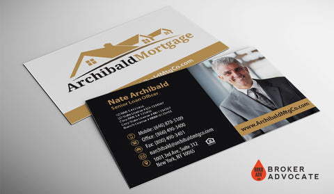 Modern Mortgage Business Card