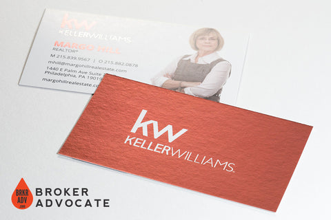 Inline Foil Business Card