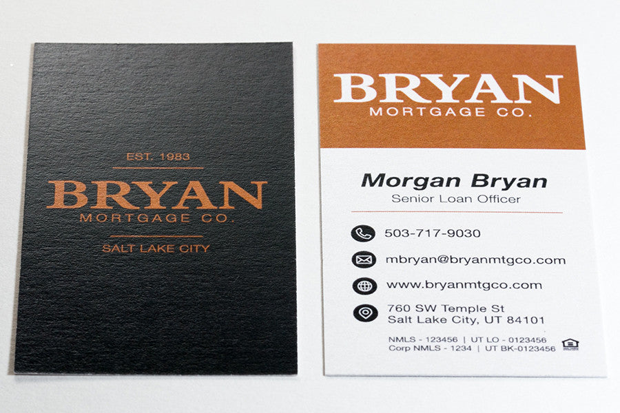 Pearl Metallic Business Card - Real Estate and Mortgage – Broker ...