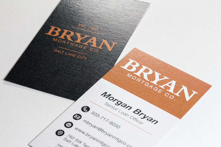 Custom business card design basic broker advocate custom business card design basic colourmoves Images