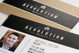 Revolution Matte Business Card