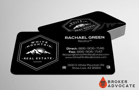 White Mountain Business Card