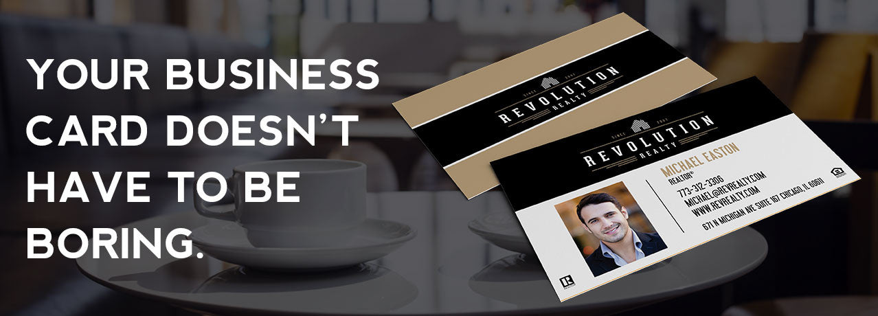 Your business card doesn't have to be boring