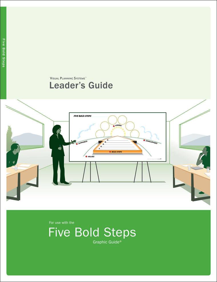 Five Bold Steps Leader's Guide — Paper