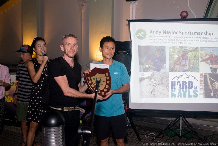 Tsang Dominates Trail Running Awards