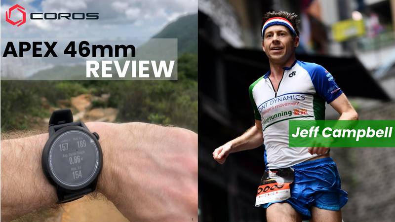 COROS APEX 46mm review by Jeff Campbell