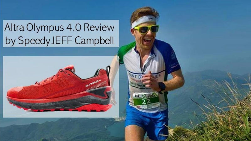 ALTRA Olympus 4.0 review by Speedy JEFF Campbell