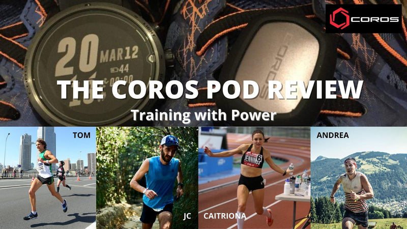 THE COROS POD REVIEW - OUR ATHLETES FINAL OBSERVATIONS - Wk 4
