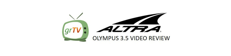Built for Comfort - ALTRA Olympus 3.5 Review - February 2020