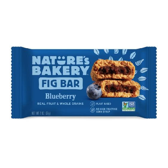 Nature's Bakery Fig Bar - Blueberry Twin Pack, Sports Bar, Nature's Bakery - Gone Running
