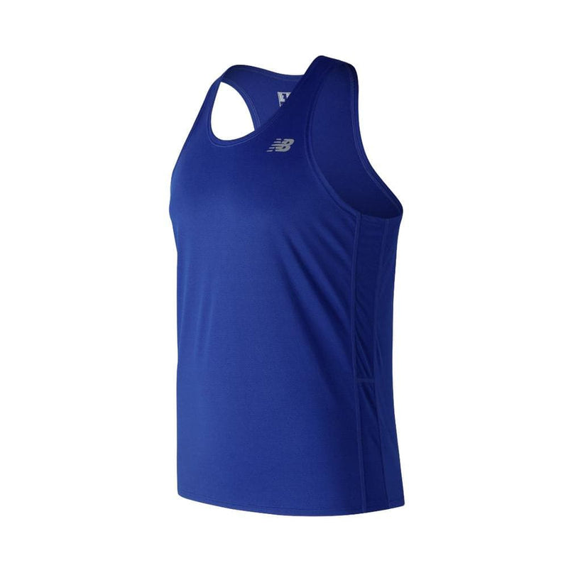 New Balance Men's Accelerate Singlet, Tops, New Balance - Gone Running