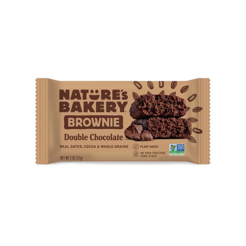 Nature's Bakery Double Chocolate Brownie, Sports Bar, Nature's Bakery - Gone Running
