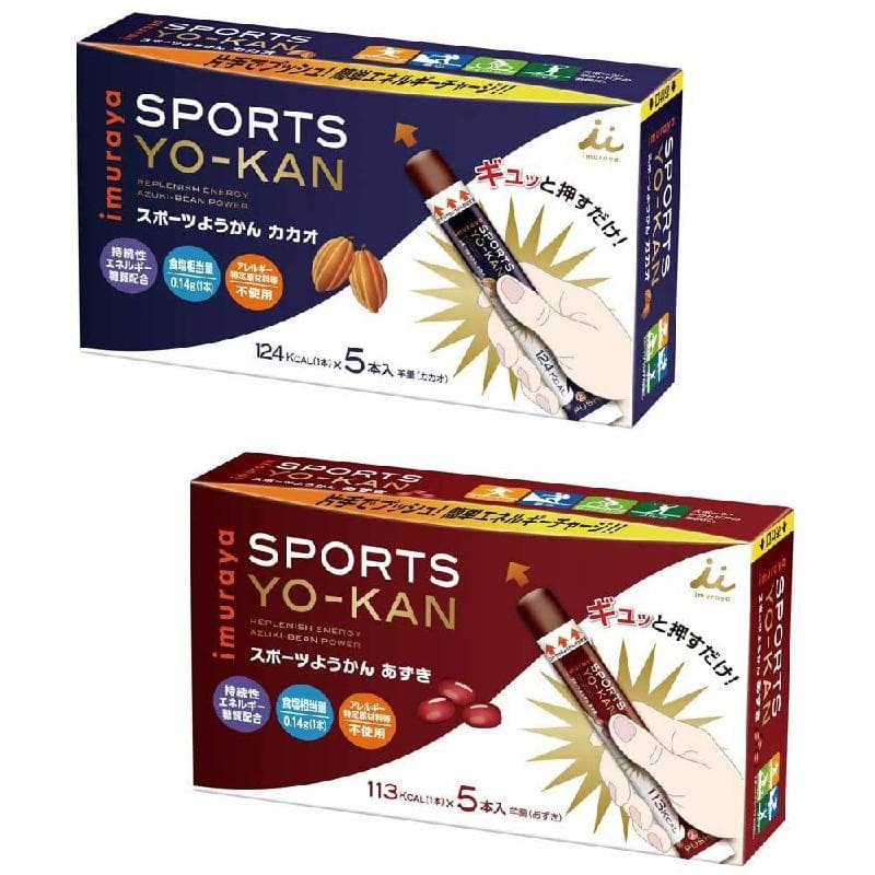 Imuraya Sports Yokan, Energy Gel, Imuraya - Gone Running