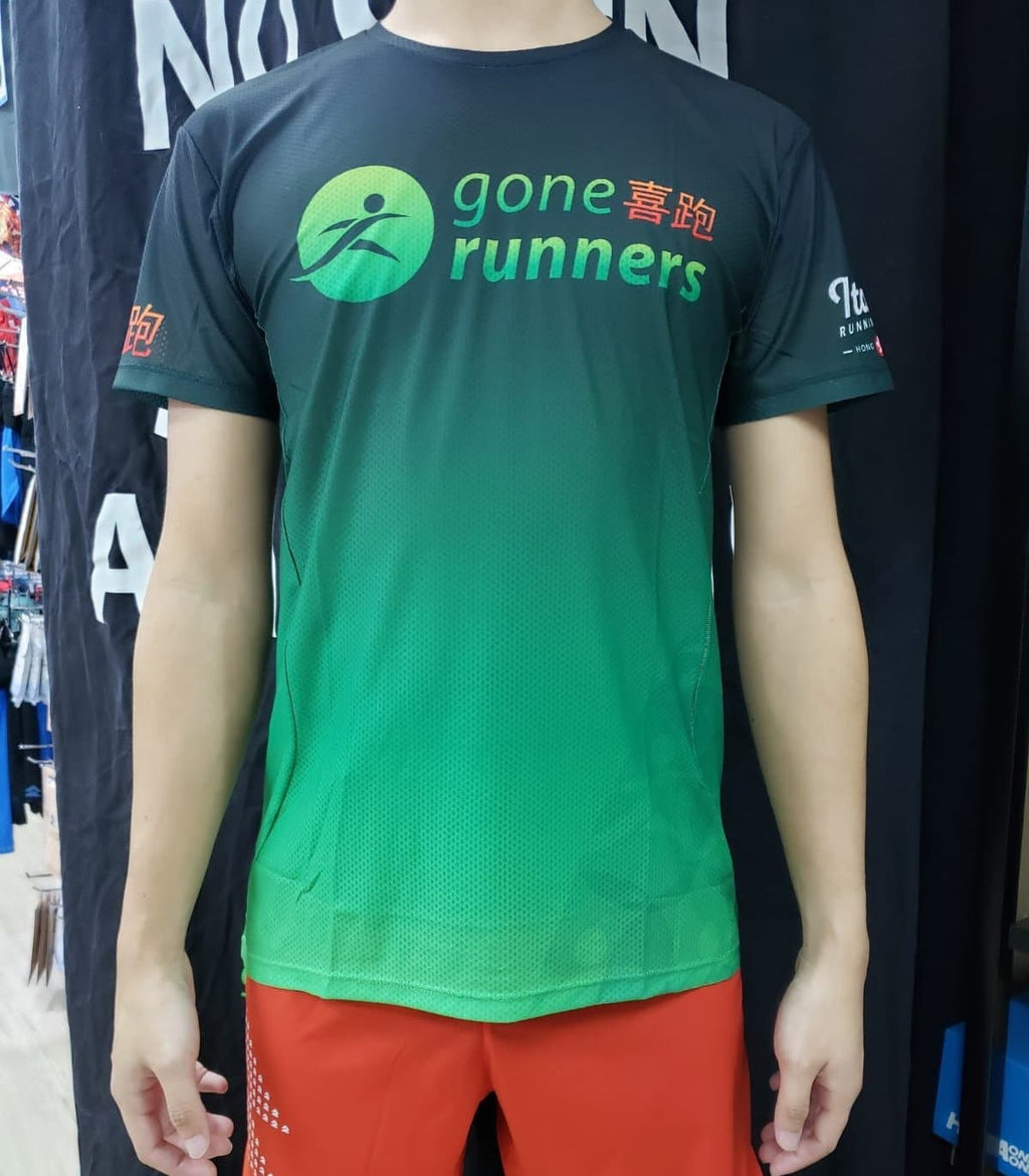 Gone Runners Running Club Tops