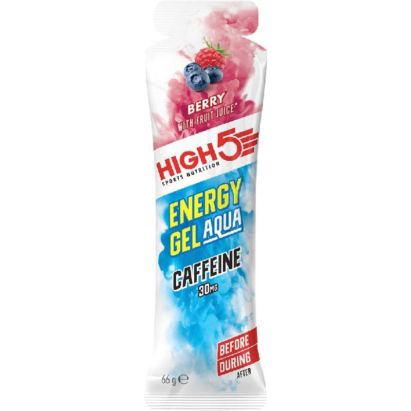 High5 Energy Gel Aqua Caffeine, Energy Gel, High5 - Gone Running
