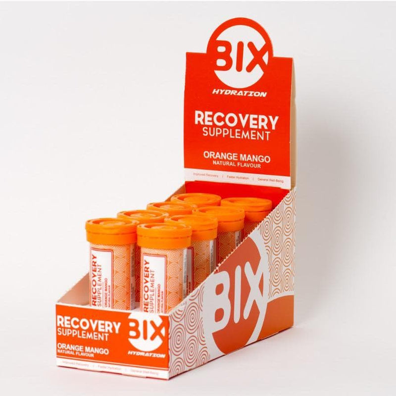 BIX Recovery Tablets - Orange Mango, Electrolyte, BIX Recovery - Gone Running