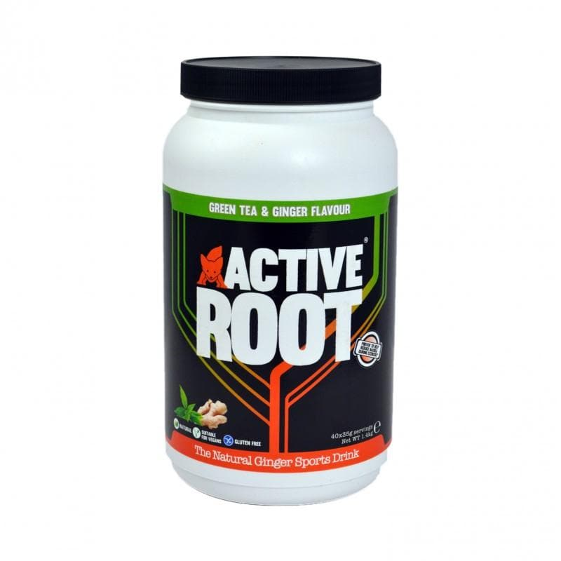 ACTIVE ROOT - GREEN TEA AND GINGER FLAVOUR - 1.4KG MIX TUB (40 SERVINGS), Sports Drink, ACTIVE ROOT - Gone Running