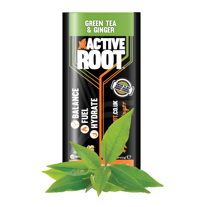 ACTIVE ROOT - GINGER AND GREEN TEA - SINGLE SACHET, Sports Drink, ACTIVE ROOT - Gone Running