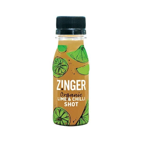 Organic Lime & Chilli Zinger - Box of 15, Sports Drink, Zinger - Gone Running