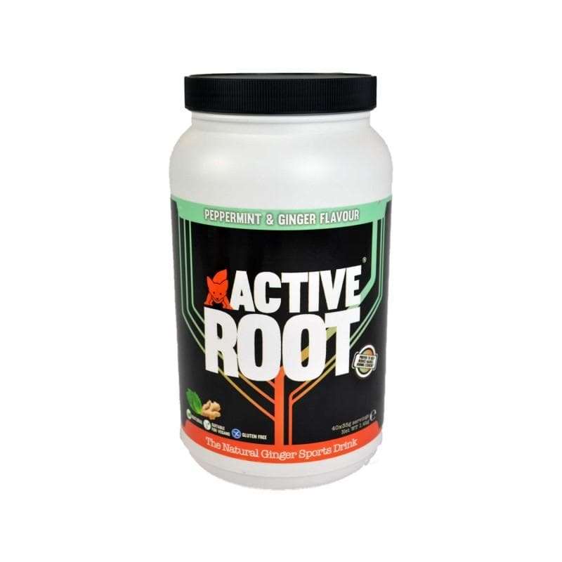 ACTIVE ROOT - PEPPERMINT AND GINGER FLAVOUR - 1.4KG MIX TUB (40 SERVINGS), Sports Drink, ACTIVE ROOT - Gone Running