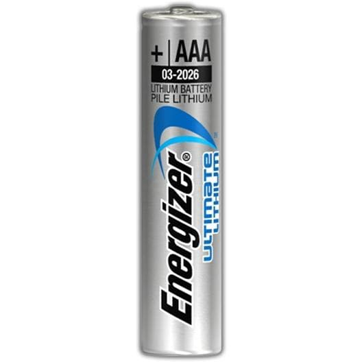 energizer ultimate lithium batteries running