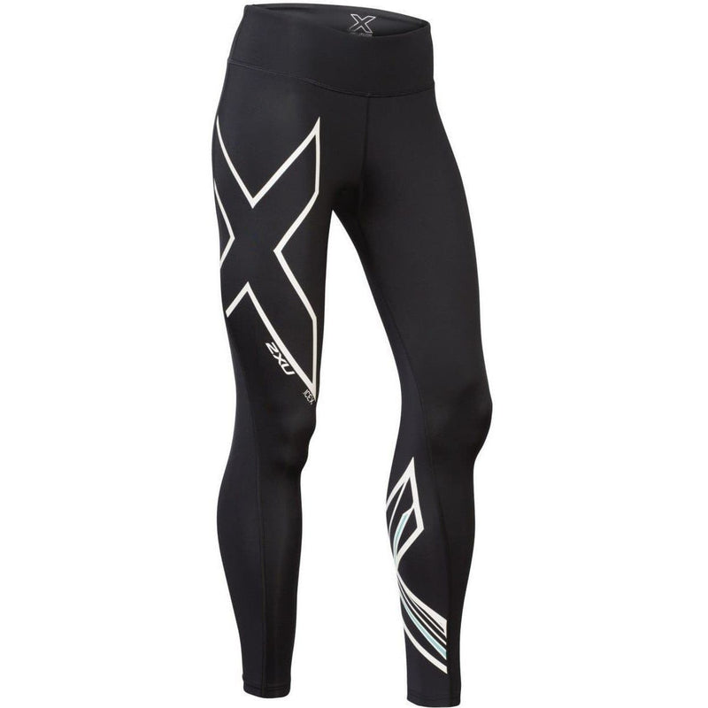 2XU Women's Ice X Mid-Rise Compression Tights, Compression, 2XU - Gone Running