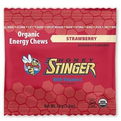 Honey Stinger Energy Chews - Strawberry, Energy Chews, Honey Stinger - Gone Running