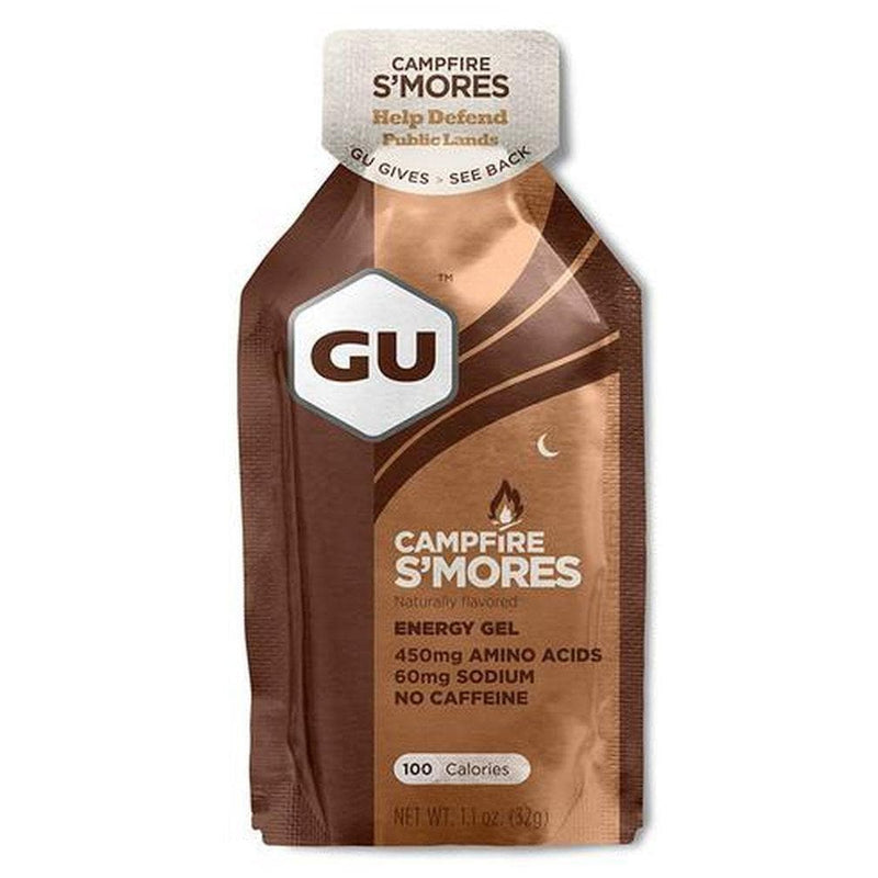 GU Energy Gel - Campfire S'Mores, Energy Gel, GU - Gone Running