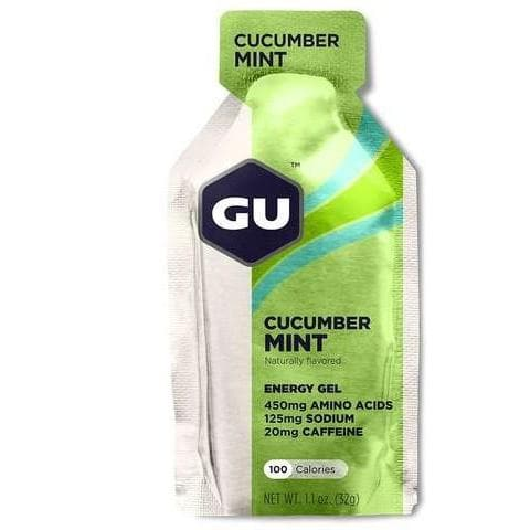 GU Energy Gel - Cucumber Mint, Energy Gel, GU - Gone Running