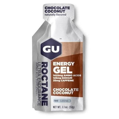 GU Roctane Energy Gel - Chocolate Coconut, Energy Gel, GU - Gone Running