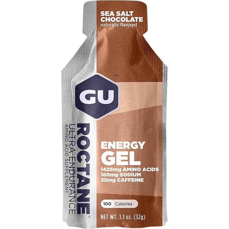 GU Roctane Energy Gel - Sea Salt Chocolate, Energy Gel, GU - Gone Running