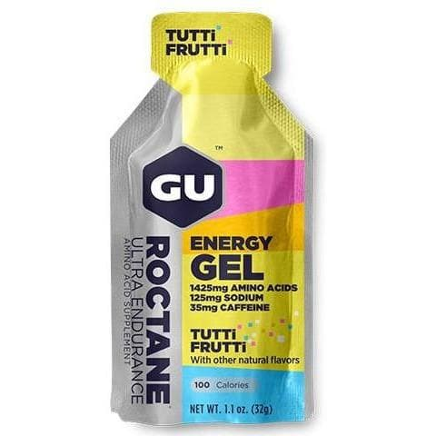 GU Roctane Energy Gel - Tutti Frutti, Energy Gel, GU - Gone Running