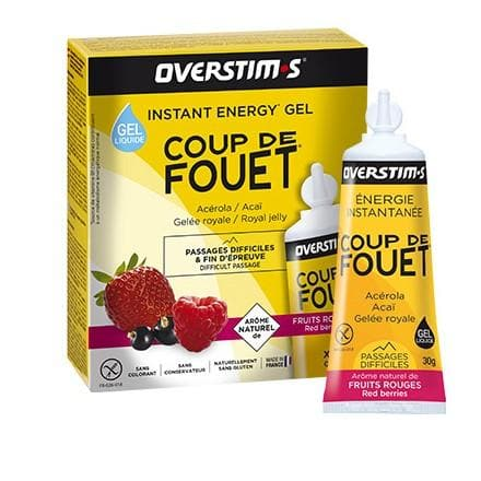 Overstims Energy Gel - Coup de Fouet, Energy Gel, Overstims - Gone Running