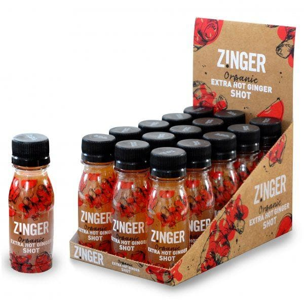 Extra Hot Ginger Zinger (70ml), Sports Drink, Zinger - Gone Running