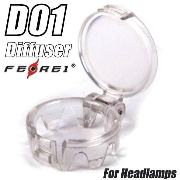 Ferei Headlamp Diffuser for HL08 | HL20 | HL40~, Head Torch, Ferei - Gone Running