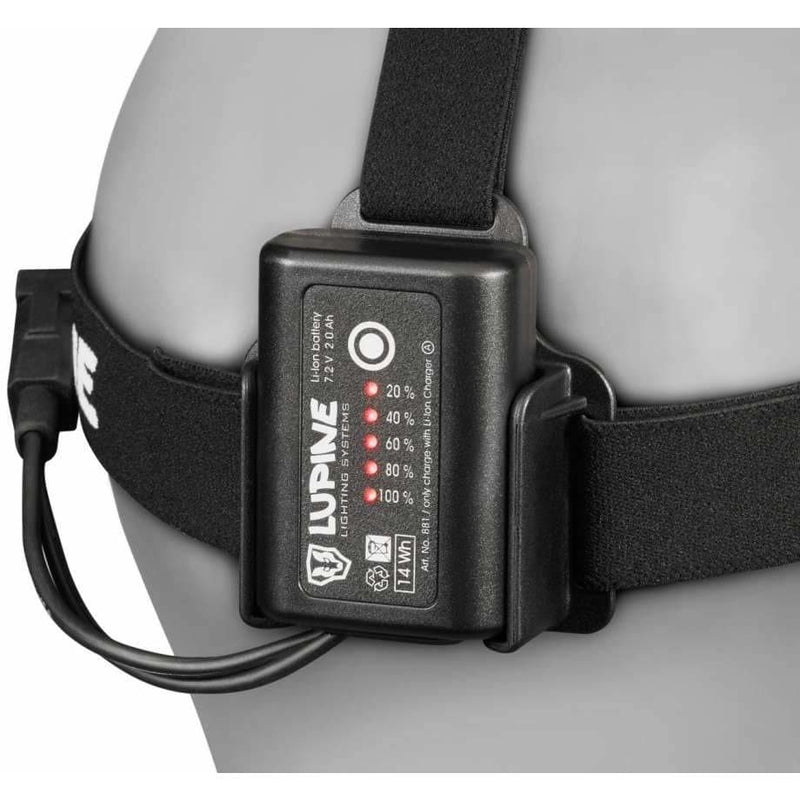 Lupine Smartcore Battery, Head Torch, Lupine - Gone Running