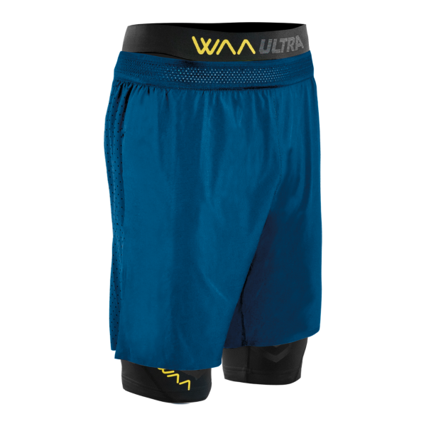 WAA Men's ULTRA SHORT 3IN1 2.0, Shorts, WAA - Gone Running