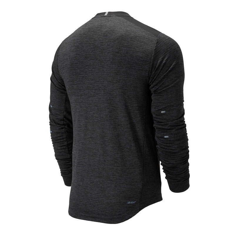 New Balance Men's Q Speed Run Crew Pullover, Tops, New Balance - Gone Running