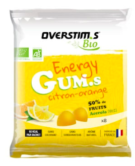 Overstims Organic Gummies - Gone Running