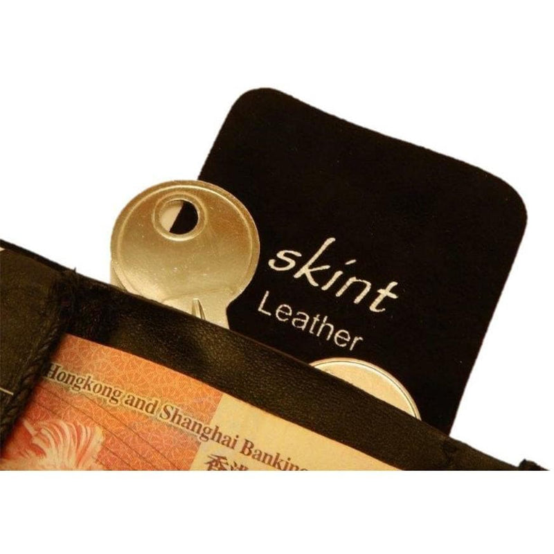 Skint Leather Wallet, Other, Skint - Gone Running