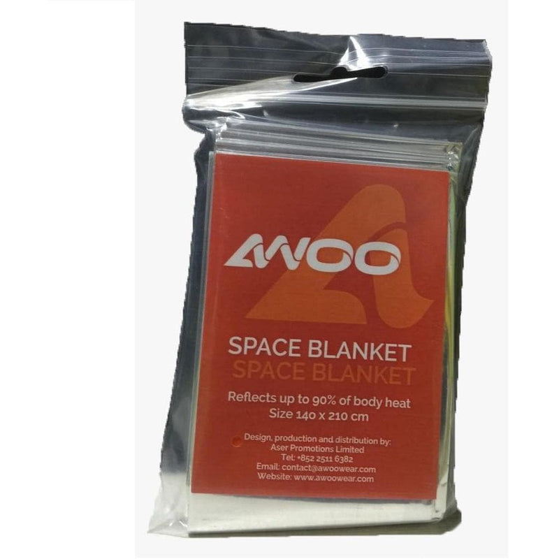 AWOO Space Blanket, Safety, AWOO - Gone Running