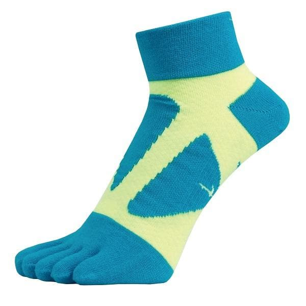 Yamatune 5 Toe Socks - Middle Length WITHOUT Slip Dots, Socks, Yamatune - Gone Running