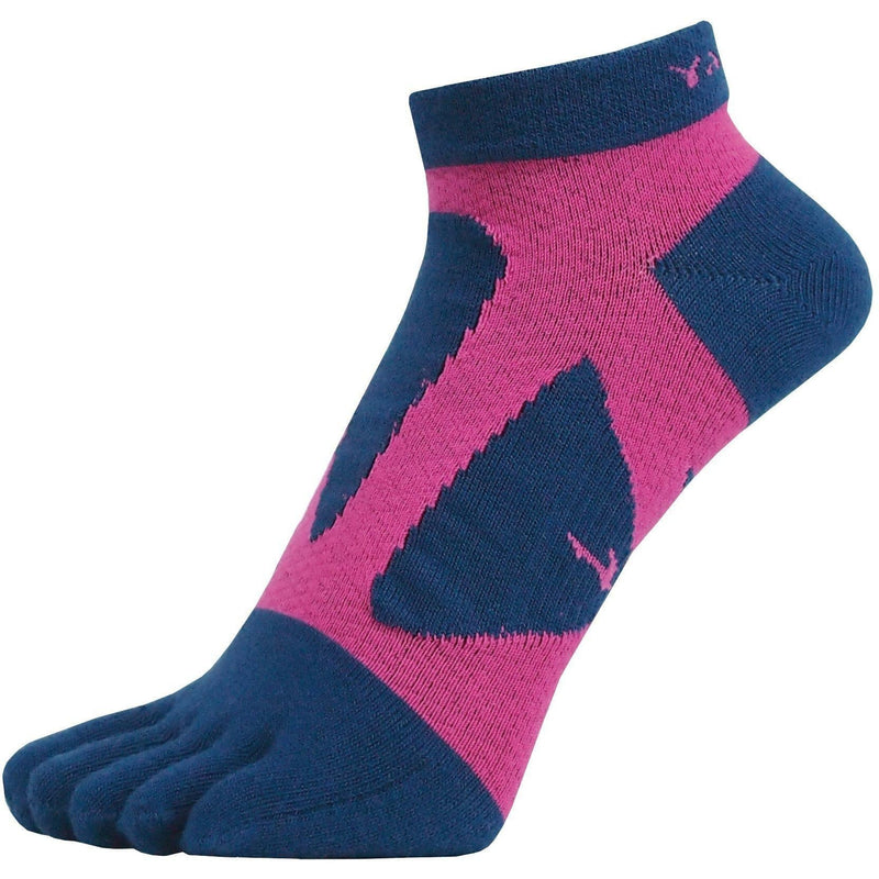 Yamatune 5 Toe Socks - Short Length with Anti-Slip Dots, Socks, Yamatune - Gone Running
