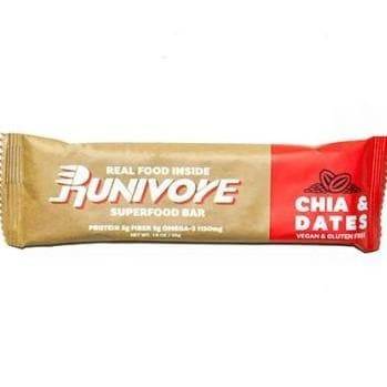 Runivore Chia & Dates Superfood Bar, Sports Bar, RUNIVORE - Gone Running