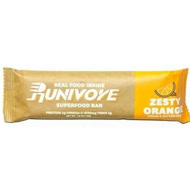 Runivore Zesty Orange Superfood Bar, Sports Bar, RUNIVORE - Gone Running